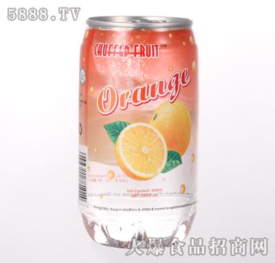 340ml橙味果汁产品图