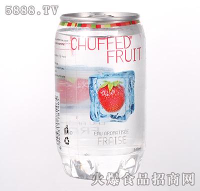 340ml草莓果汁产品图