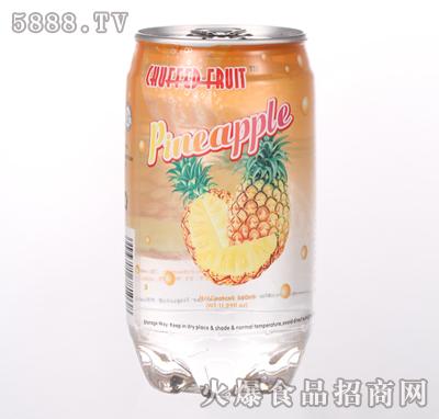 340ml菠萝果汁产品图