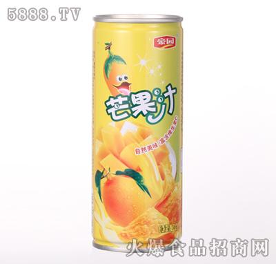 245ml豪园芒果汁产品图