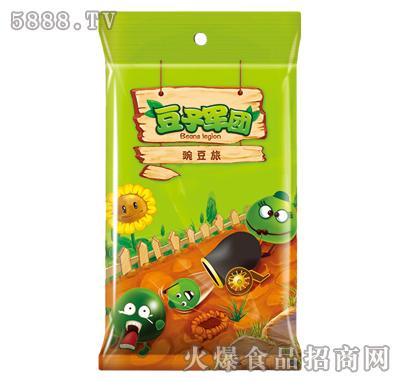 五香味豆子军团油炸豌豆