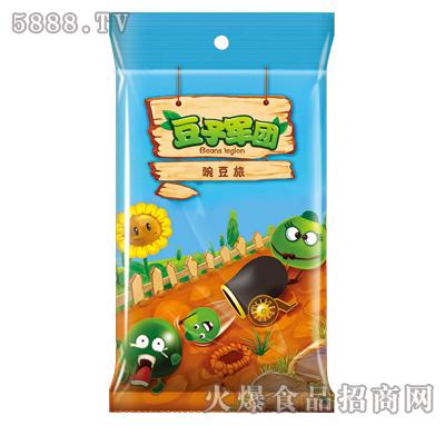 蒜香味豆子军团油炸豌豆