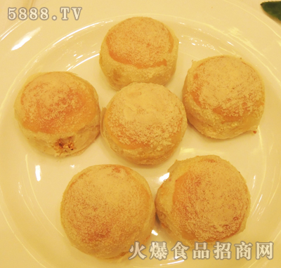 金沙酥月饼