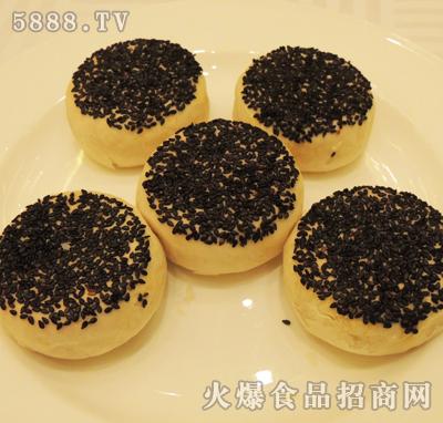 黑芝麻苏式月饼