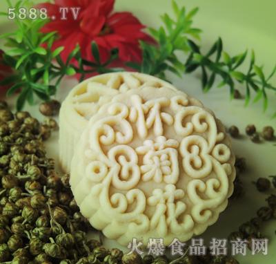 怀菊花月饼