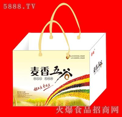麦香五谷手提袋装 青岛初元生物科技有限公司-火爆网.