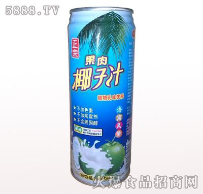 豪园果肉椰子汁245ml