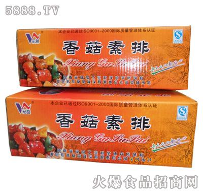 香菇素排(箱装)