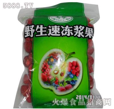 野生速冻草莓产品图