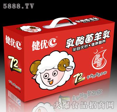 健优C乳酸菌羊乳100mlX20瓶产品图