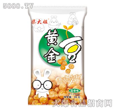 柴大姐黄金豆蒜香味30g