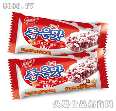 佳因美巧克力红豆松产品图
