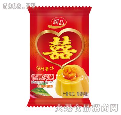 佳因美芒果优酪芒果味果冻新品产品图