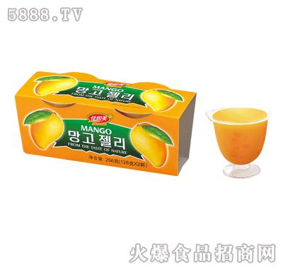 佳因美芒果味果冻256g产品图