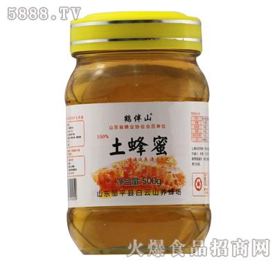 鹤伴山土蜂蜜500g