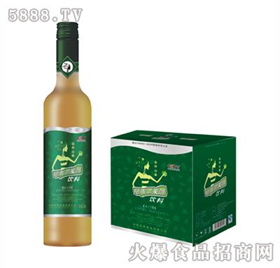 绝乖苹果醋绿标白直口500ml