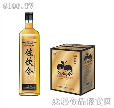 左饮令苹果醋金标寿樽瓶752ml