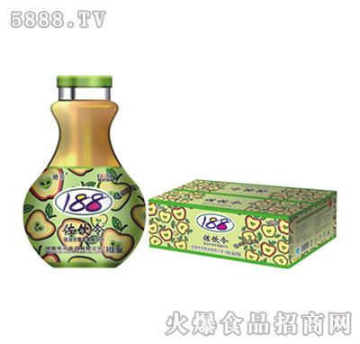 左饮令苹果醋精典手雷口杯瓶118ml