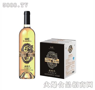 左饮令苹果醋烤花高樽瓶740ml