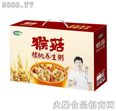 浩明猴菇核桃养生粥礼盒