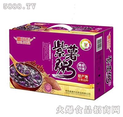 紫薯粥膳食纤维八宝粥