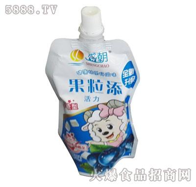 盛朝早餐奶果粒奶蓝莓味产品图