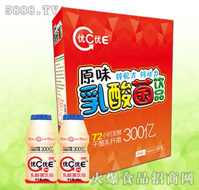 虎润优C优E乳酸菌饮品原味100ml×30瓶