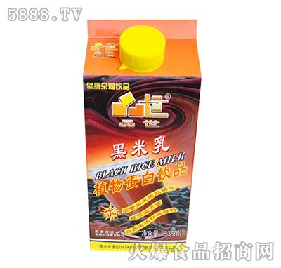 品世黑米乳植物蛋白饮品535ml