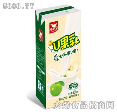 养君宝U果乳苹果味250ml