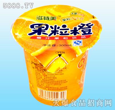 滋特美散文橙果粒橙汁美食300ml|荆州市和悦食饮料果粒的图片