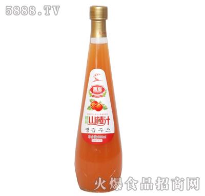 真心山楂汁838ml