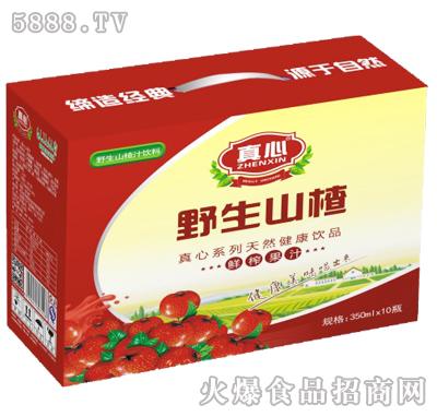 真心野生山楂汁350mlX10瓶