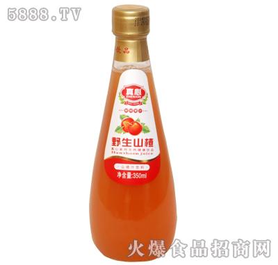 真心野生山楂汁350ml