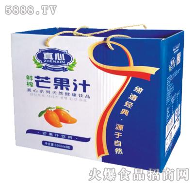 真心芒果汁350mlX8瓶