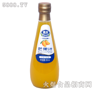 真心芒果汁350ml