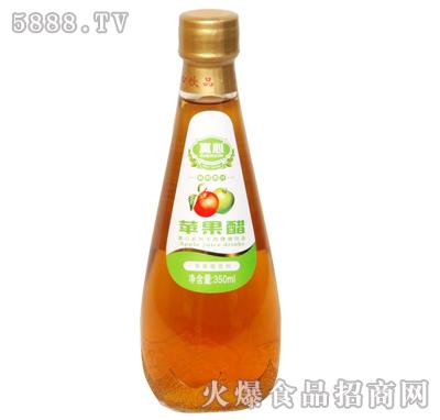 真心苹果醋350ml