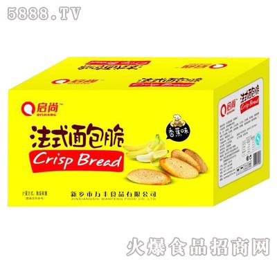 3kg启尚法式面包脆香蕉味箱装