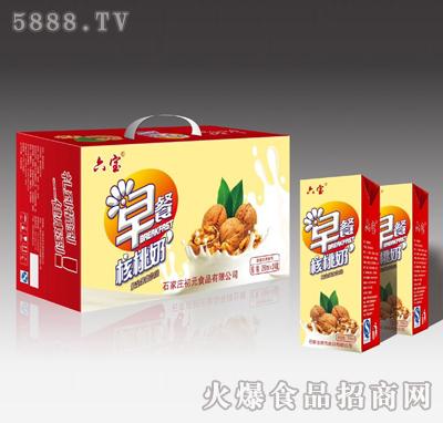 250mlX24六宝早餐核桃奶
