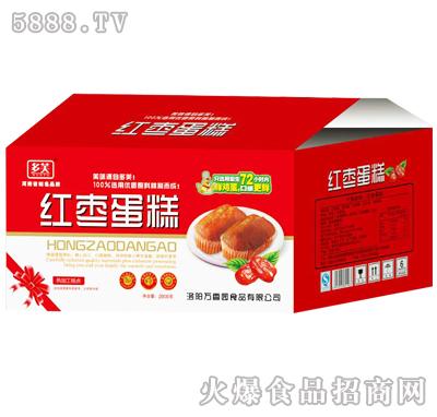2000g多芙红枣蛋糕