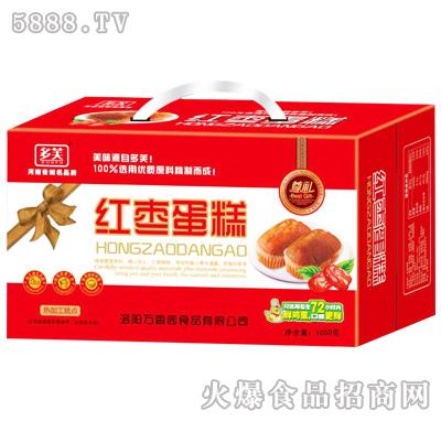 1050g多芙红枣蛋糕