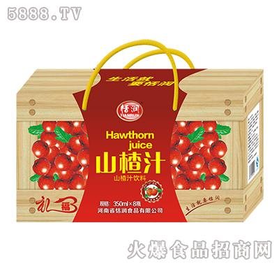 350mlx8恬润山楂汁木纹礼盒