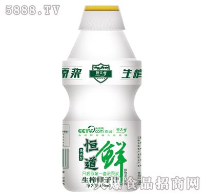 恒道鲜生榨椰子汁450ml