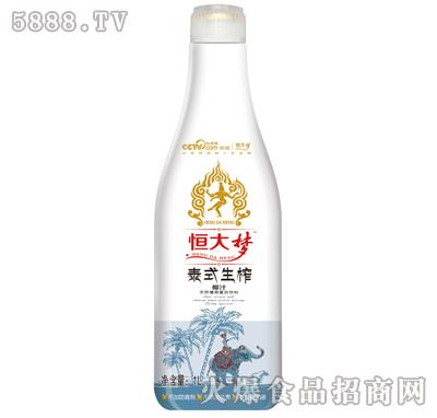 恒大梦泰式生榨椰子汁1L