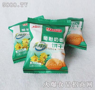 飞龙食品菊粉奶香饼干散装称重