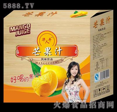 华人牛芒果汁风味饮品产品图