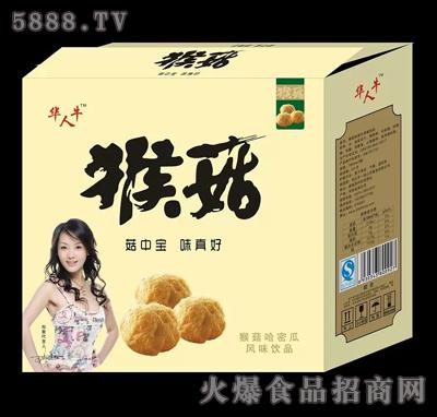 华人牛猴菇哈密瓜风味饮品产品图