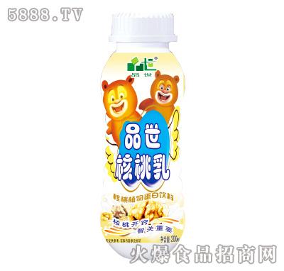 品世核桃乳核桃植物蛋白饮料200ml