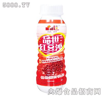 品世红豆沙植物蛋白饮料250ml