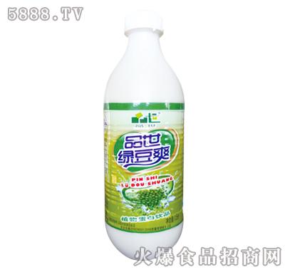 品世绿豆爽植物蛋白饮料1.5L