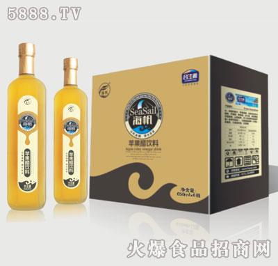 650ml×6瓶苹果醋(六棱瓶)